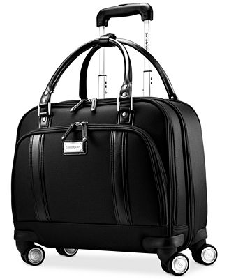 Samsonite Women's Spinner Mobile Office Laptop Briefcase ...