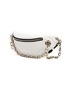 Multi Pocket Chain Fanny Pack