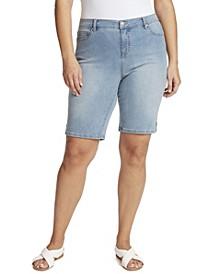 Women's Plus Size Midrise Bermuda Short