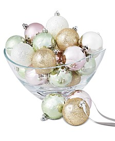 Shimmer and Light Shatterproof Ornaments, Set of 30, Created for Macy's