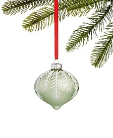 Shimmer & Light Green Branch Ornament, Created for Macy's