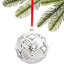 Shine Bright Glass Ball Ornament, Created for Macy's