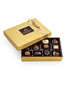 Gold Discovery Chocolate Gift Box, 12 Piece Set