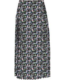 Allium Maxi Pleated Skirt