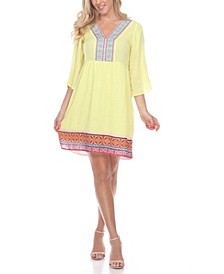 Women's Gabrielle Embroidered Dress