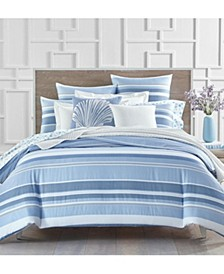 Coastal Stripe 300-Thread Count Bedding Collection, Created for Macy's
