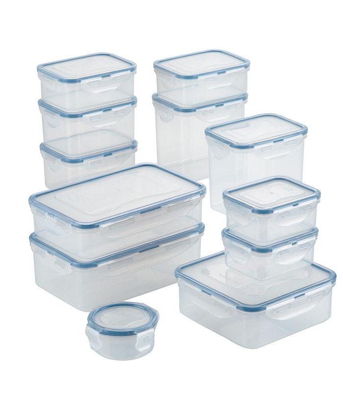 Lock n Lock - Easy Essentials Basics 24-Pc. Food Storage Set