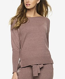 Voyage Textured Sweater Knit Lounge Top
