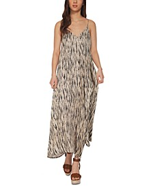 Printed Cami Maxi Dress