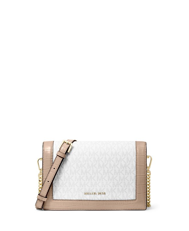 Michael Kors Signature Jet Set Flap Chain Crossbody