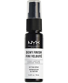 Makeup Setting Spray Mini - Dewy, 0.6-oz.