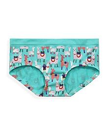 Big Girls Printed Seamless Hipster Underwear