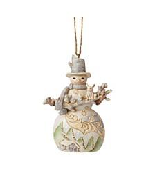 Woodland Snowan Animals Ornament