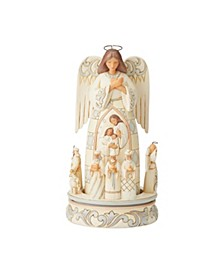 Woodland Angel Nativity Scene
