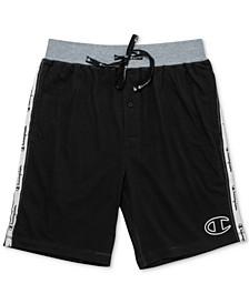 Men's Cotton Colorblocked Jogger Pajama Shorts