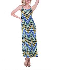 White Mark Women's Adalina Maxi Dress