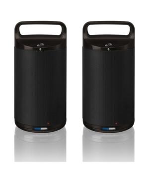 iLive Dual Indoor/Outdoor Bluetooth Speakers, Set of 2