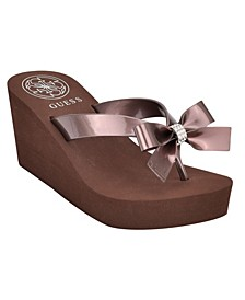 Women's Siarra Flip-Flop Wedge Sandals