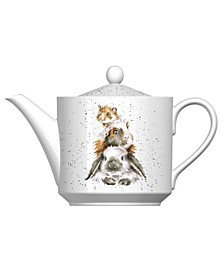 Piggy in The Middle Teapot