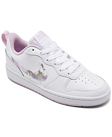 Big Girls Court Borough 2 Floral Casual Sneakers from Finish Line