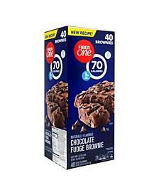 70 Calorie Chocolate Fudge Brownies, 40 Count