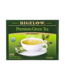 Premium Organic Green Tea Bags, 168 Count