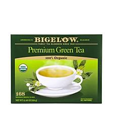 Premium Organic Green Tea Bags, 168 Count