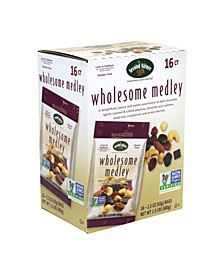Wholesome Medley Mixed Nuts, 1.5 oz, 16 Count