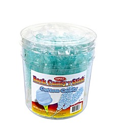 Light Blue Cotton Candy-Flavored Rock Candy Sticks, 36 Count