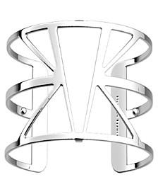 Triangular Openwork Wide Adjustable Cuff Ibiza Bracelet, 40mm, 1.6in