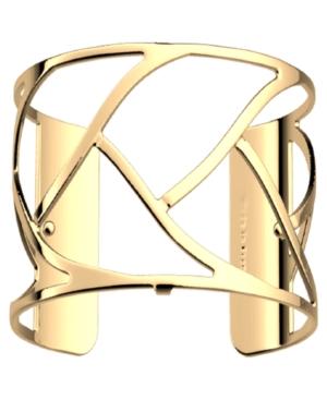 Large Chamber Openwork Wide Adjustable Cuff Tresse Bracelet