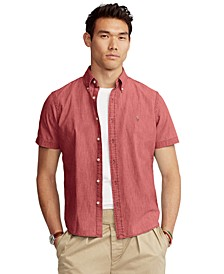 Men's Classic-Fit Chambray Shirt