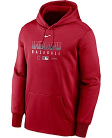 Men's Cleveland Indians Authentic Collection Therma Dugout Hoodie
