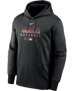 Nike Men's San Francisco Giants Authentic Collection Therma Dugout Hoodie