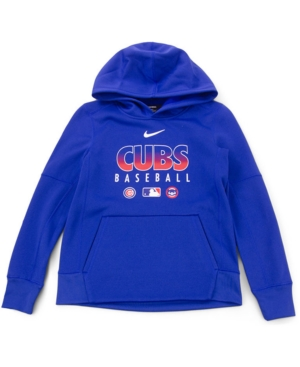 Nike Youth Chicago Cubs Therma Fleece Hoodie