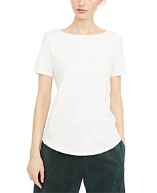 Multic Boat-Neck Top