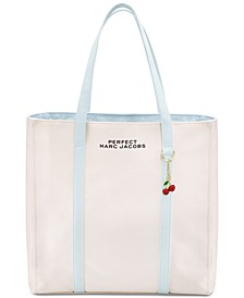 Receive a Complimentary Perfect Tote Bag with any large spray purchase from the Perfect Marc Jacobs Fragrance Collection