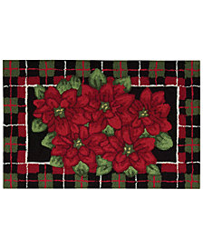 """CLOSEOUT! Nourison Rugs, Holiday Poinsettia 20"""" x 32"""" Accent Rug"""