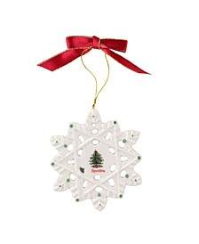 CLOSEOUT! Snowflake Ornament