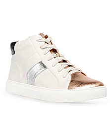 Alvira Lace-Up High-Top Sneakers