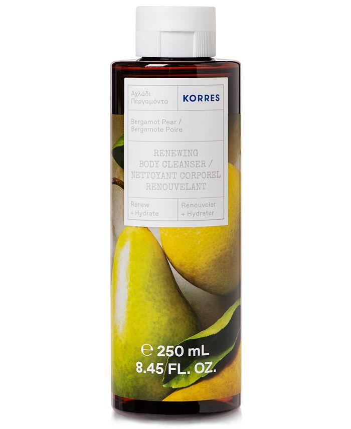 KORRES - Korres Bergamot Pear Renewing Body Cleanser, 8.45-oz.