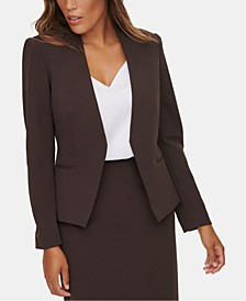 Asymmetrical Suit Jacket