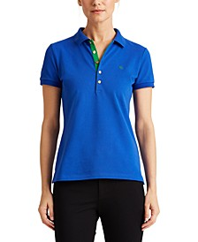 Lauren Ralph Lauren Petite Stretch Polo Shirt
