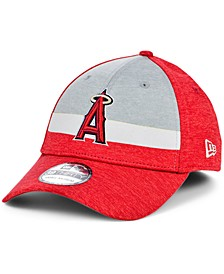 Los Angeles Angels Striped Shadow Tech 39THIRTY Cap