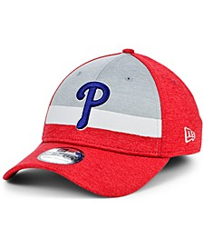 Philadelphia Phillies Youth Striped Shadow Tech 39THIRTY Cap