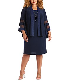 Plus Size Dress & Jacket