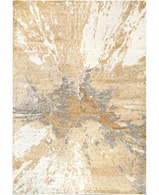 Cyn CFDR02A Gold 3' x 5' Area Rug