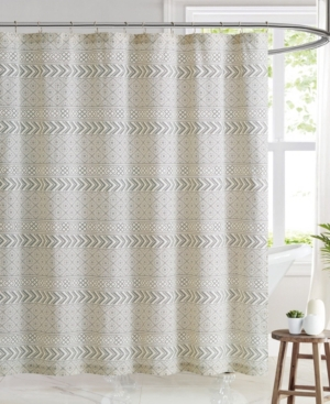Brooklyn Loom Chase Shower Curtain, 72