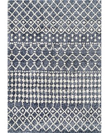 Barbara GROC01B Gray 2' x 3' Area Rug