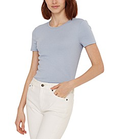 Stretch Knit T-Shirt